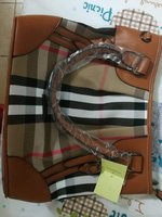 Used Burberry ladies hand bag in Dubai, UAE