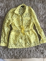 Used ANOTAH LACE JACKET..WORN ONCE..SIZE M in Dubai, UAE