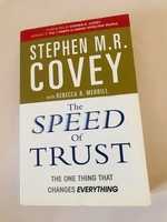 Used Book speed of trust, English version  in Dubai, UAE