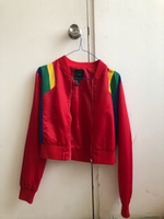 Used Rainbow jacket cropped (large) in Dubai, UAE