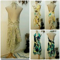 Used Bundle offer 3 pcs backless dress in Dubai, UAE
