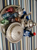 Used Moroccan tea set in Dubai, UAE
