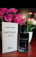 Used Dior sauvage men perfume edp in Dubai, UAE