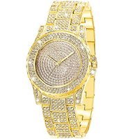 Used women's luxury Bling diamond watch in Dubai, UAE