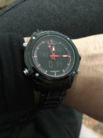 Used NAVIFORCE Leather Watch.☆ ✔Original in Dubai, UAE