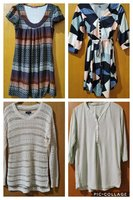 Used Women 9 tops + denim in Dubai, UAE