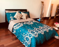 Used Bed with mattress (120x200)  in Dubai, UAE