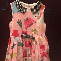 Used Simonetta Pink girls dress size 6 in Dubai, UAE