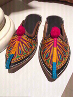Used Handmade Woman slippers size 8 in Dubai, UAE