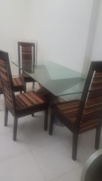 Used Dining set from home center  in Dubai, UAE