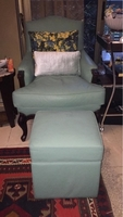 Used Lounge chair with puff in Dubai, UAE