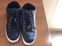 Used Black Bershka sneakers in Dubai, UAE