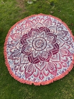 Used Pink Mandala Beach Towel in Dubai, UAE