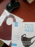 Used 2 WASHABLE A3 Mask HIGH QUALITY 👍 in Dubai, UAE