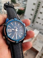 Used NAVIFORCE Leather Watch ☆ Original in Dubai, UAE