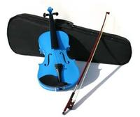 Used Brand New Violin with Case -Blue in Dubai, UAE