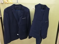 Used NEW NAVY BLUE SUIT 3XL in Dubai, UAE