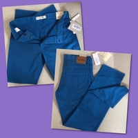 Used Lacoste Blue Slim Fit/ 36 in Dubai, UAE