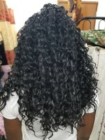 Used Lace front deep curly wig in Dubai, UAE
