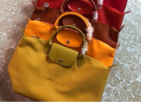 Used Longchamp Mustard Yellow bag MSH bnew in Dubai, UAE