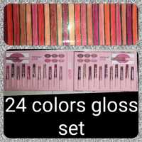 Used 24 colours gloss set💄 in Dubai, UAE