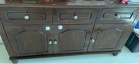 Used Buffet table with mirror in Dubai, UAE