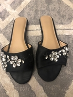 Used Black flat size 38 in Dubai, UAE