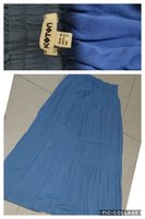 Used 4 pc women skirts off wh+black+navy+blue in Dubai, UAE