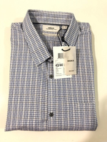 NEW MEXX Shirt Size XL 43-44 Color Blue