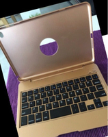 Used Gold Case Wireless Keyboard/ ipad mini 4 in Dubai, UAE