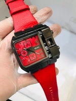 Used Oulm watch red color  in Dubai, UAE