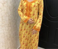 Used Hand made work dress , pure cotton  in Dubai, UAE