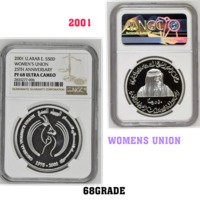 Used WOMENS UNION SILVER CERTIFIED COIN in Dubai, UAE