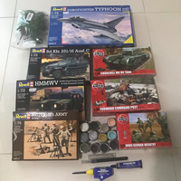 Used Revell/Airfix Soldier Plastic Model Kits in Dubai, UAE