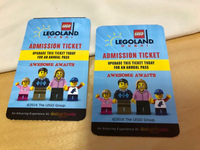 Used Legoland Ticket  in Dubai, UAE
