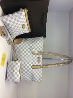 LOUIS VUITTON LADIES 3PCS HANDBAG SET