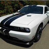 "Used 2014 - DODGE CHALLENGER SRT8 , 392 HEMI , VAPOR EDITION , WHITE , 0 K/M , ""UP TO 3 YRS WARRANTY"" in Dubai, UAE"