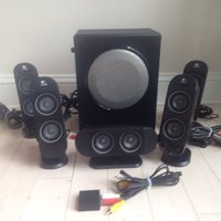Used Logitech 5.1 speakers in Dubai, UAE
