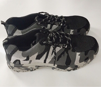 Used Work/Hiking Camouflaged Safety Shoe-45 in Dubai, UAE