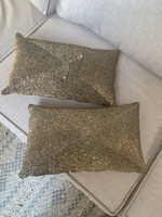 Used Gold Sequin Cushions in Dubai, UAE