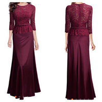 Used ELEGANT RED LACE DRESS M in Dubai, UAE