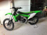 Used Kx450f 2018 only 18km mileage in Dubai, UAE