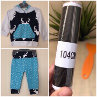 Used NEW Hooded Shirt & Pants 6-12mos. + 🎁 in Dubai, UAE