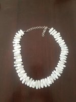 Used PureMother of pearl with silver necklace in Dubai, UAE