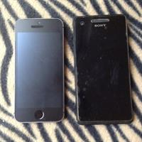 Broken iPhone And Sony