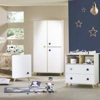 Used Baby room set (bed, dresser, wardrobe) in Dubai, UAE