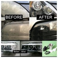 Used Car head light repair cup in Dubai, UAE