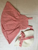 Used Baby Dress and Bow Straw Hat in Dubai, UAE