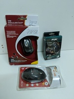 3 pcs new mouse with box