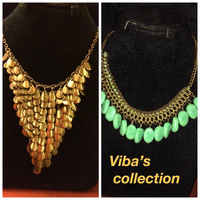 Used Stones and metal necklace  in Dubai, UAE